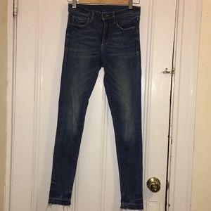 H&M Blue, Skinny Jeans (Size 27)